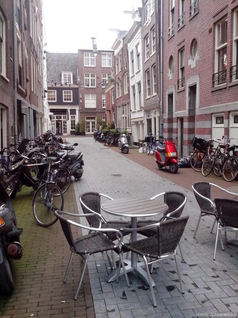 Амстердам - пешеходная зона