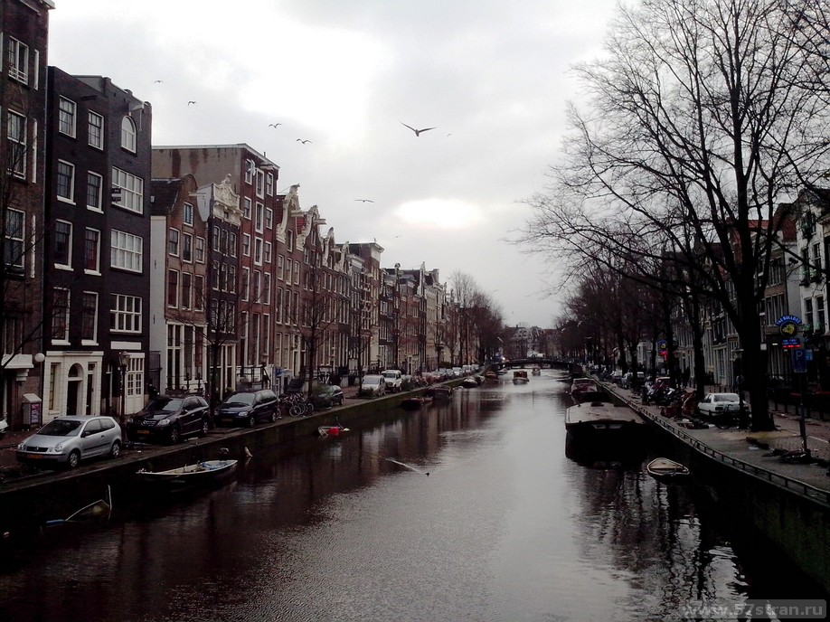 Amsterdam - каналы