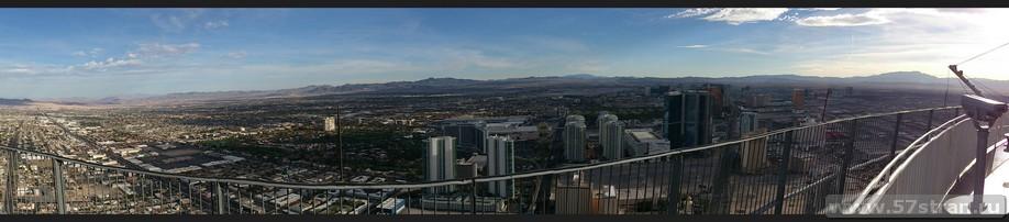 Лас-Вегас с отеля Стратосфера