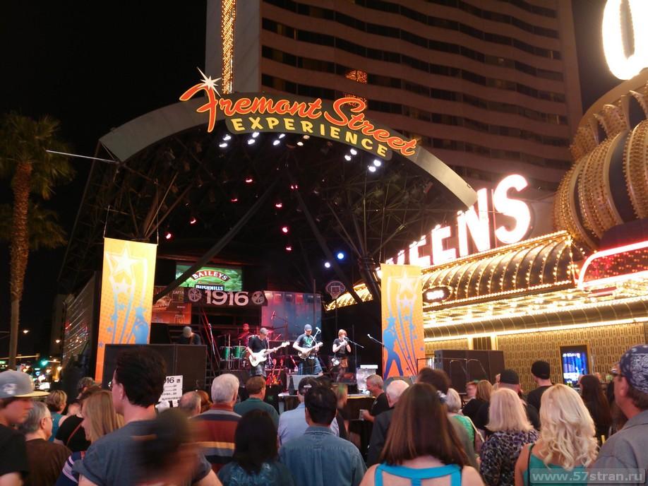 Fremont St. Las Vegas