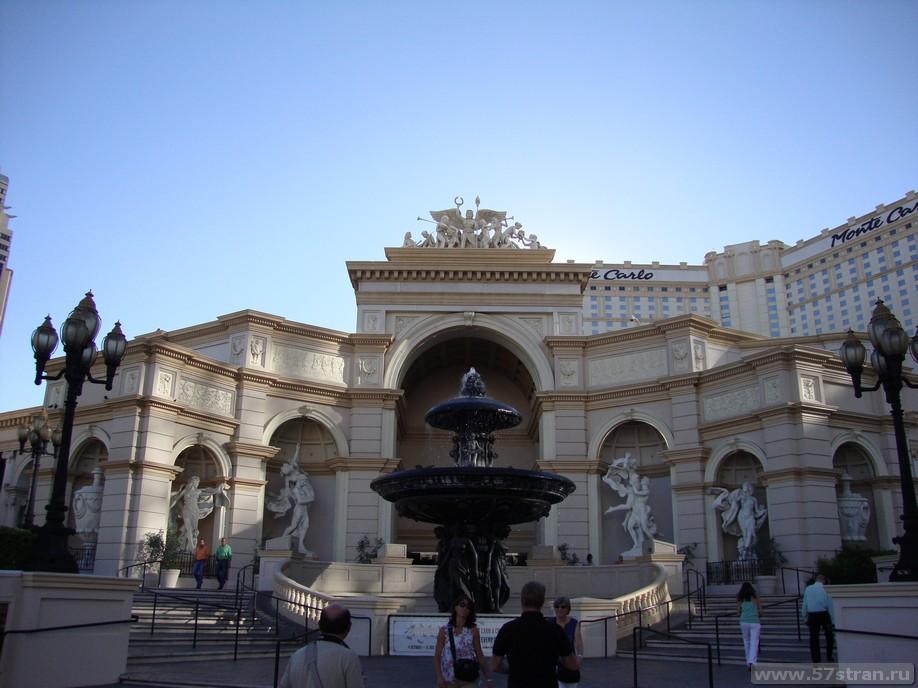Отель Монте-Карло в Лас-Вегасе