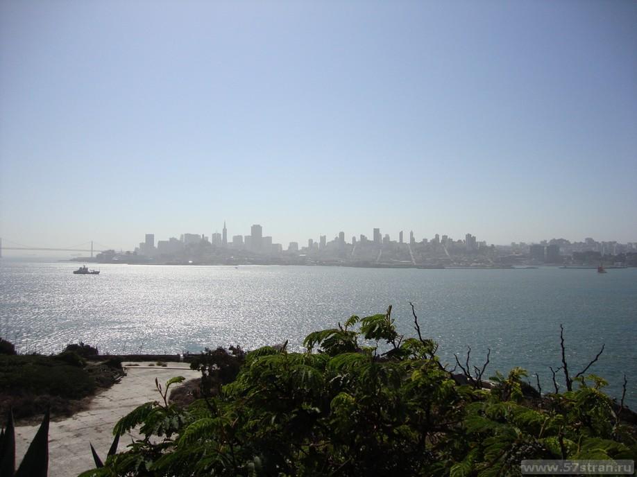 Сан Франциско с Алкатраза