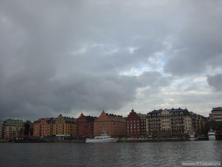 Классический Скандинавский город - Стокгольм