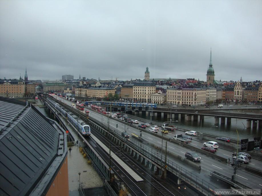 Достопримечательности Cтокгольма - Старый город, 2 линии метро