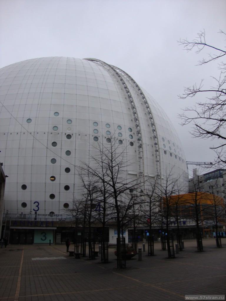 Globen Arenas - смотровая площадка