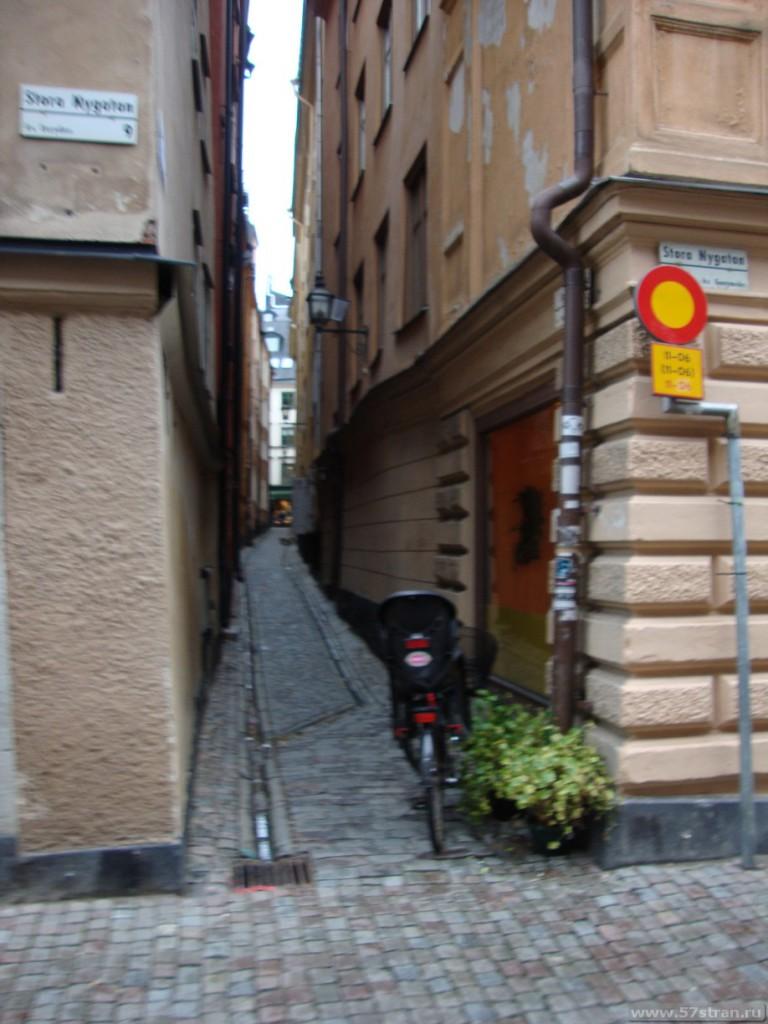 Узкие улочки Стокгольма, Старый город