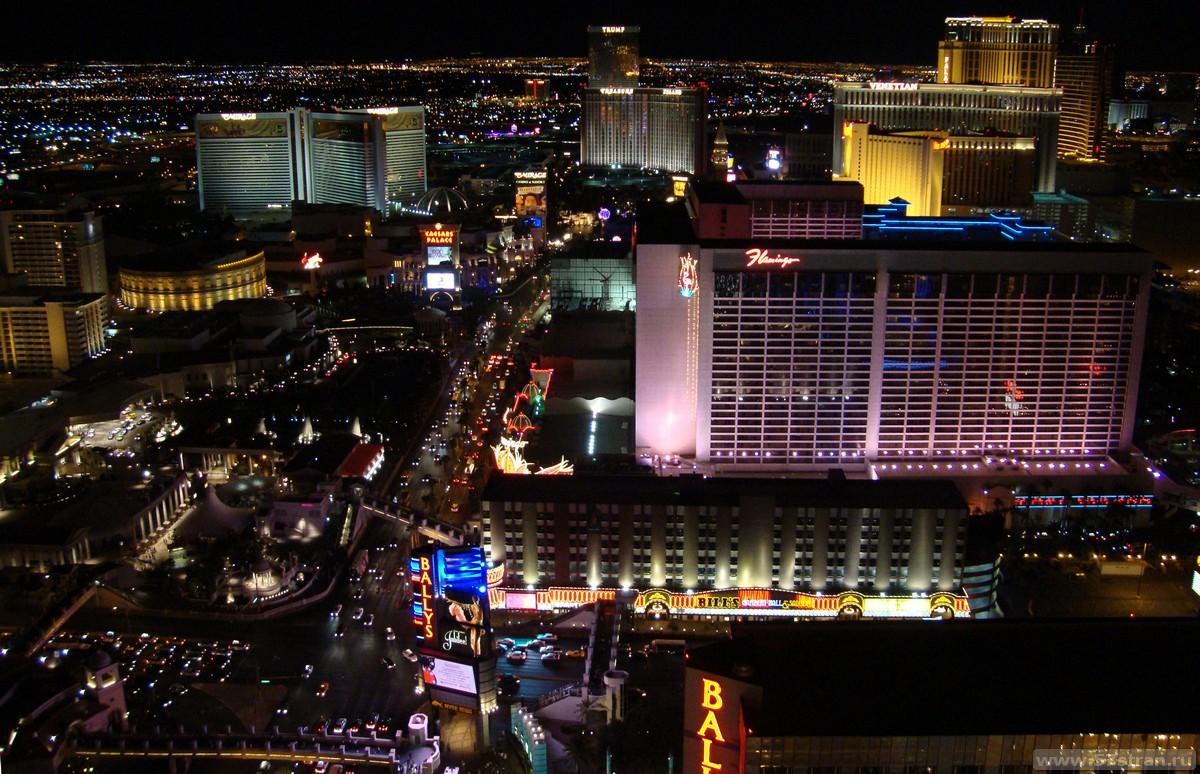 Лас-Вегас с Эйфелевой башни