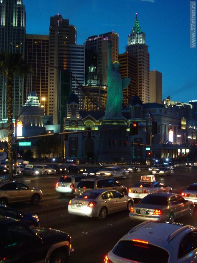 Статуя свободы Las Vegas