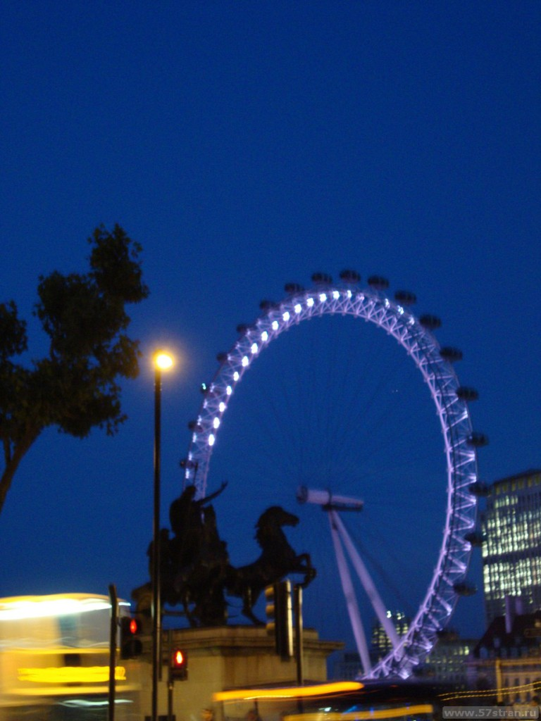 London Eye - колесо обозрения