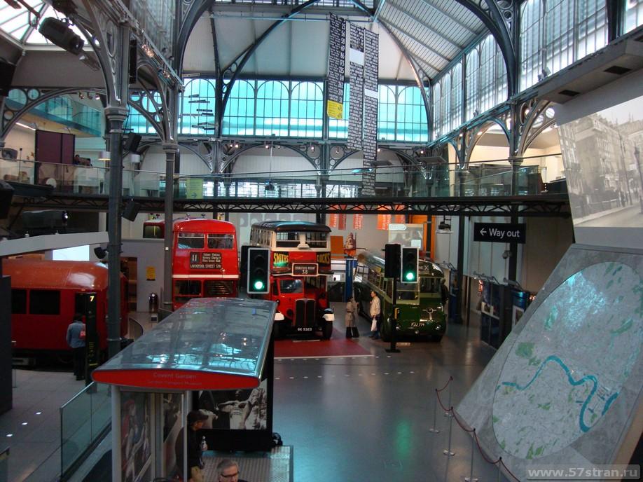 Лондон: транспортный музей