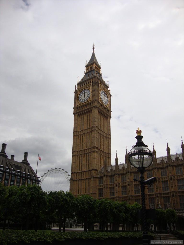 Достопримечательности Лондона - Big Ben и London Eye