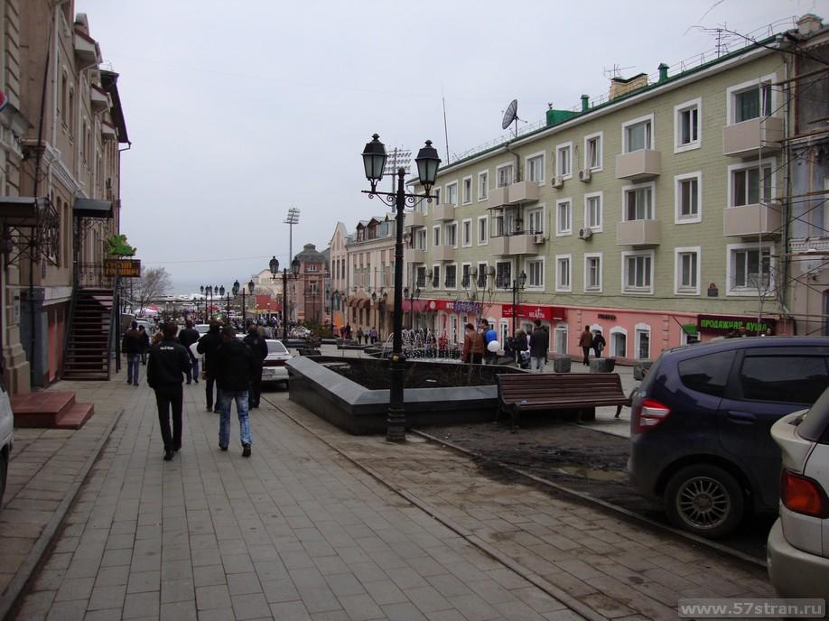 Владивосток - пешеходная зона