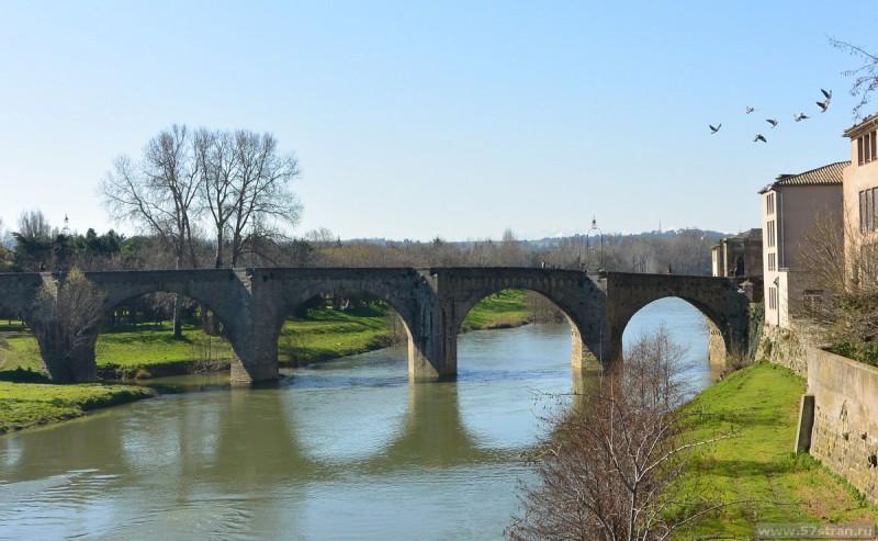 Каркассон - старый мост