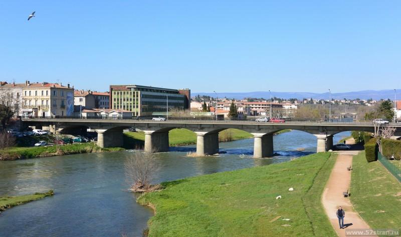 Новый мост в Каркассоне