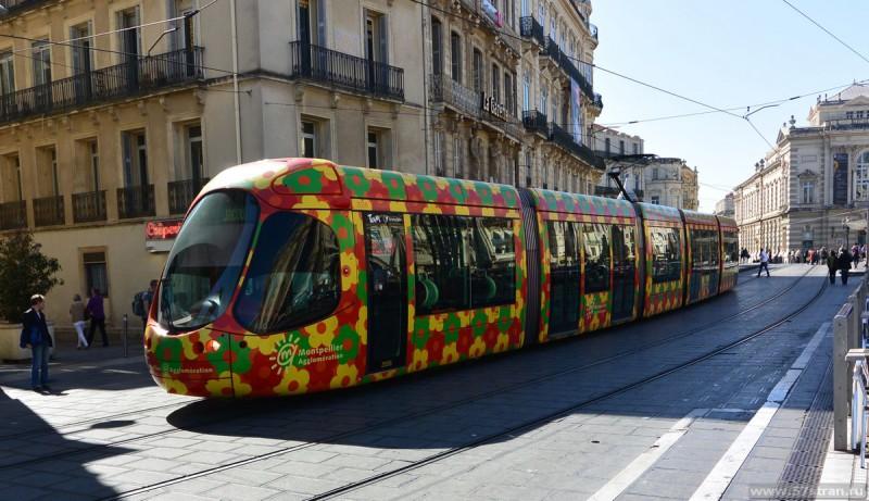 Трамвай в Монпелье