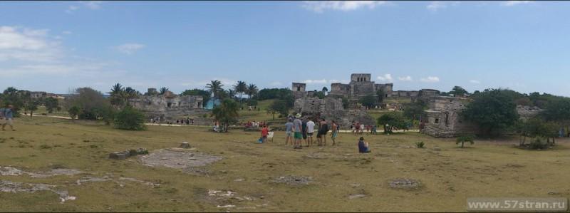 Панорама Тулум Мексика