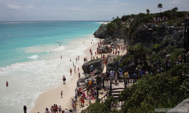 Tulum пляж