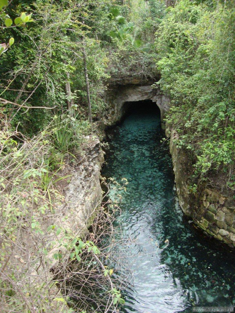 Подземная река Шкарет