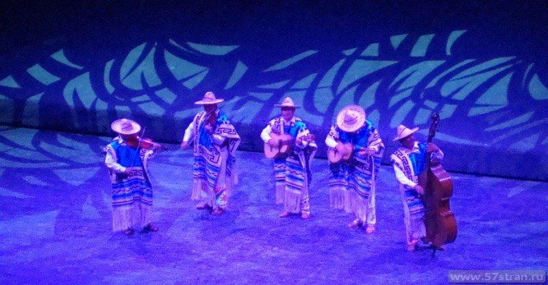 Xcaret этническое шоу
