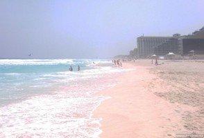 Отличный пляж в Канкуне