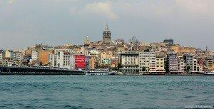 Вид на Стамбул