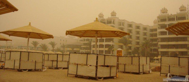 Пляж в Хургаде