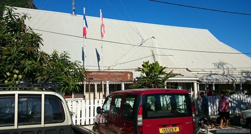 Полиция на Бора-Бора