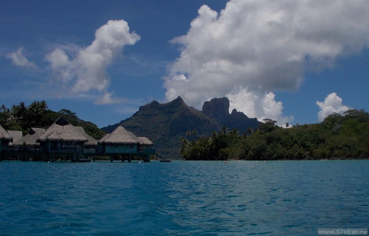 Достопримечательности и перелет на остров Бора-Бора