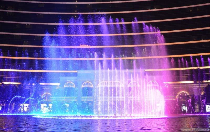 Поющий фонтан Макао