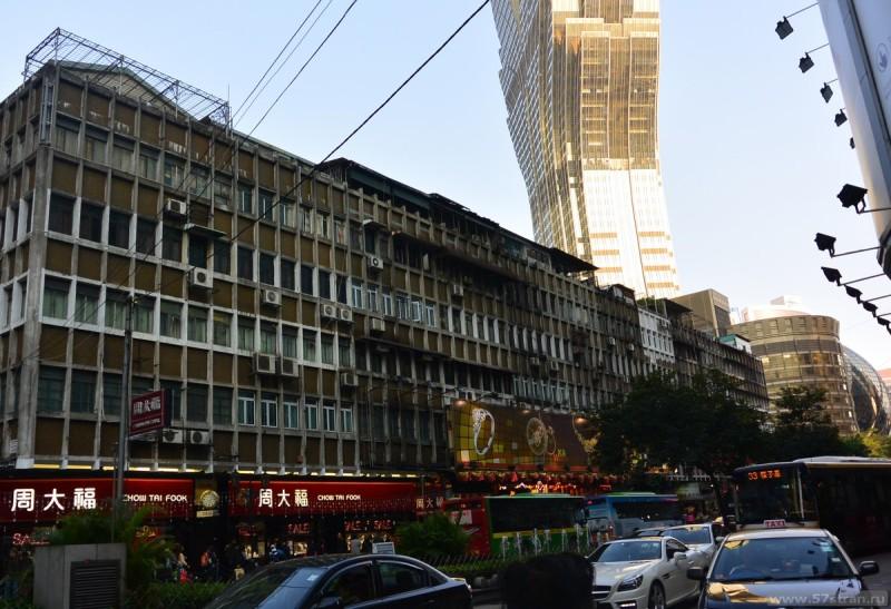 Трущобы в центре Макао
