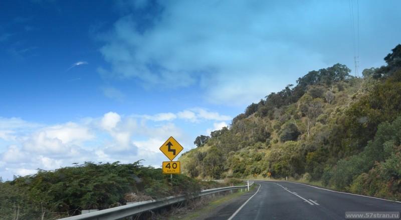 Дорожный знак Австралия