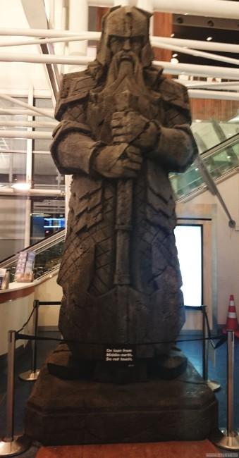 Статуя из Властелина колец