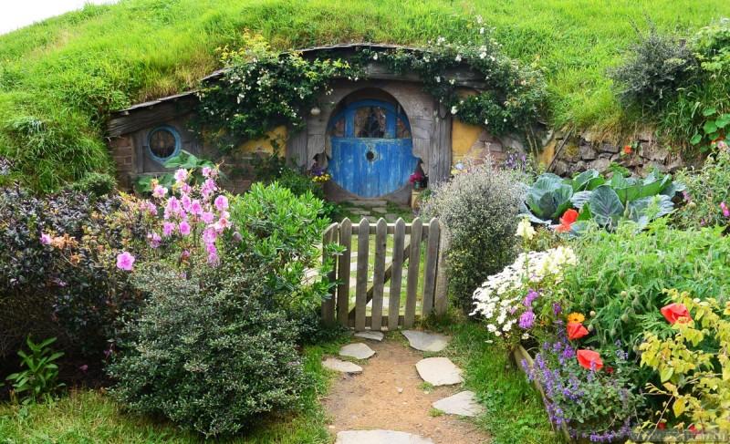 Деревня Хоббитов Новая Зеландия