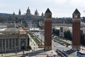 Венецианские колонны Барселона