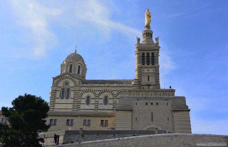 Нотр-Дам-де-ла-Гард – Базилика в Марселе