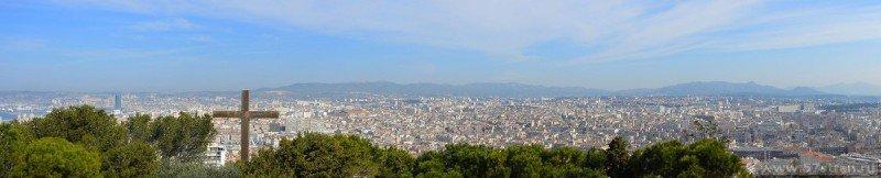 Панорама Марселя