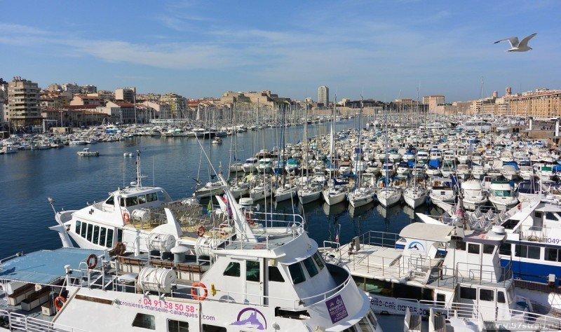 Достопримечательности Марселя - старый порт