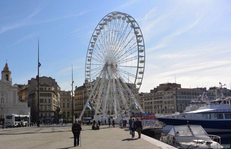 Колесо обозрения в Марселе