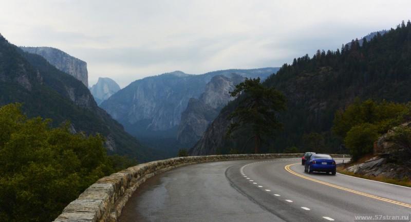 Дорога в Парк Йосемити