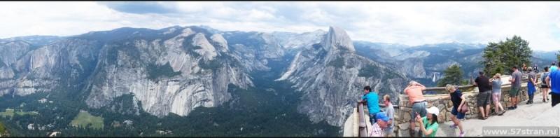 панорама Парка Йосемити