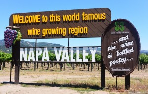 Знак Долина Напа