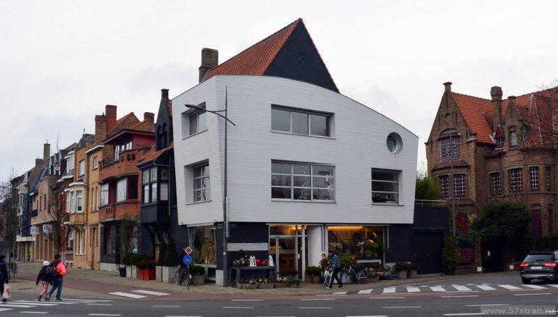 Новые здания Брюгге