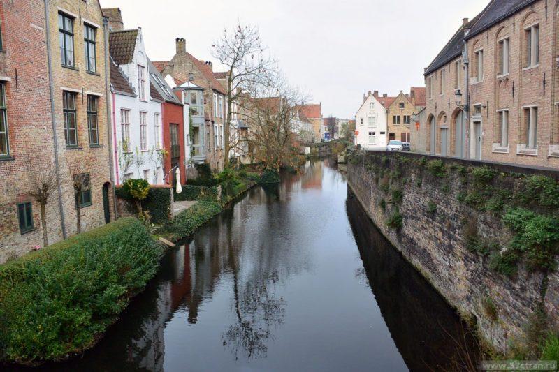 Канал в Брюгге