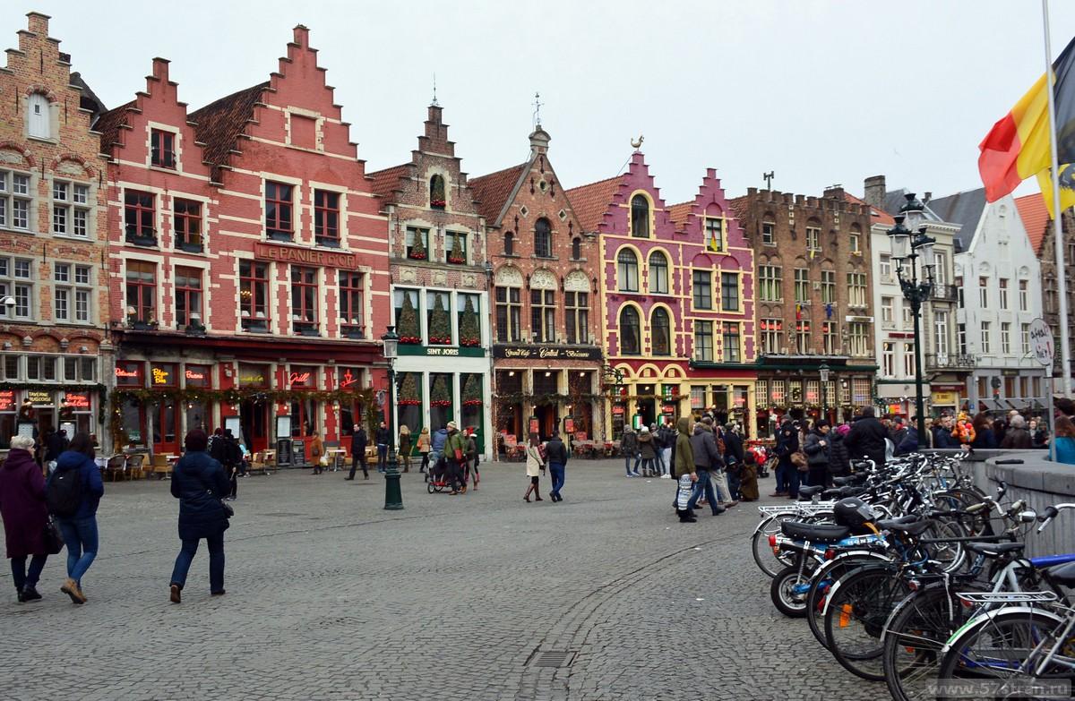 Брюгге фото города
