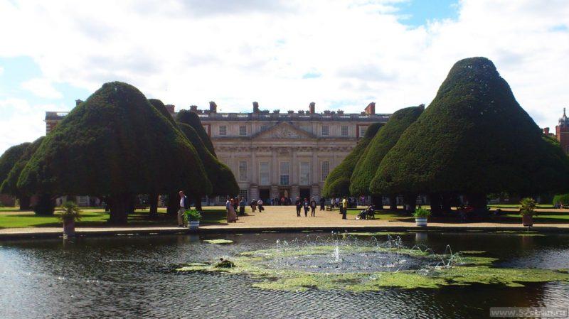 Хэмптон Корт сады