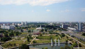 Панорама Минска