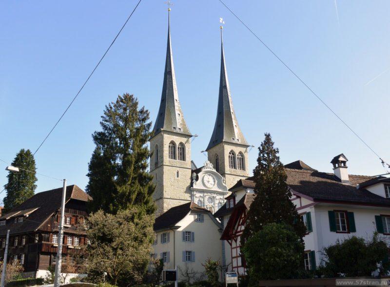 Люцерн - церковь