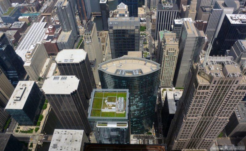 Чикаго - вид с небоскреба