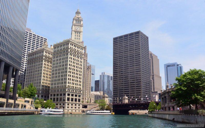 Чикаго с реки