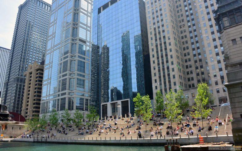 Берег Чикаго ривер